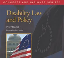 disability law and policy book cover