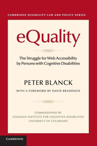 Equality Book cover