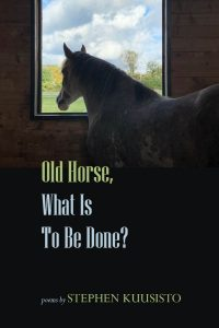 """Front Cover of """"Old Horse, What is to be Done?"""" by Stephen Kuusisto"""