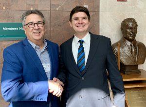 Peter Blanck and Paul Harpur