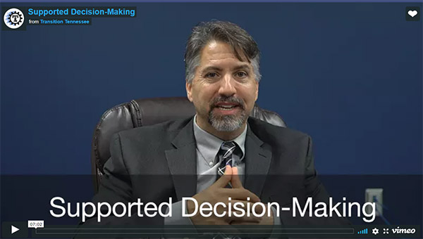 Supported Decision Making video screenshot