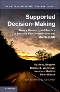 Suported Decision Making Book Cover