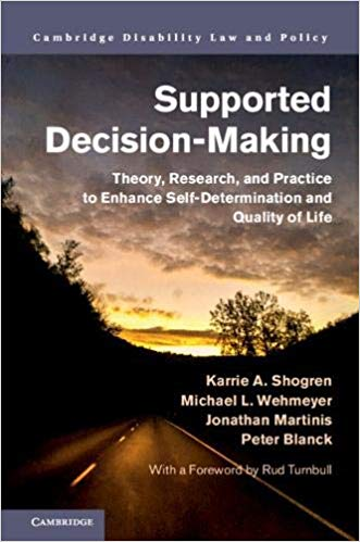 Supported Decision Making Book cover