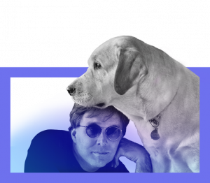 Stephen Kuusisto and Guide Dog